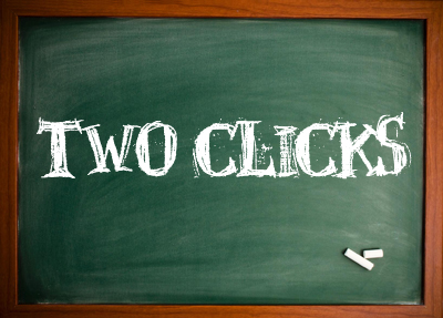 IN YOUR LIST IN TWO CLICKS